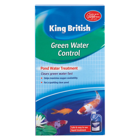 King British Green Water Control Treatment For Ponds 250ml To 6 X 250ml