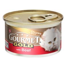 Gourmet Gold Cat Food With Beef In Gravy 12 X 85g
