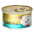 Gourmet Gold Cat Food With Salmon And Chicken 12 X 85g