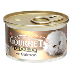 Gourmet Gold Cat Food With Salmon Terrine 12 X 85g