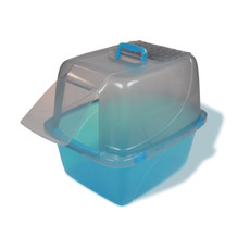 Van Ness Translucent Enclosed Cat Litter Tray Pan Ex Giant