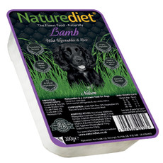 Naturediet Adult Dog Food With Lamb, Vegetables And Rice 18 X 390g