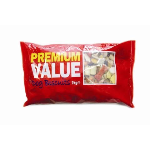 Premium Value Dog Biscuits 2kg