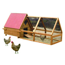 Den Marketing Lazy Bones Chicken Ark And Run Lb324 Large