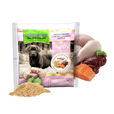 Natures Menu Frozen Puppy Food Nuggets With Chicken, Salmon And Rice 1kg