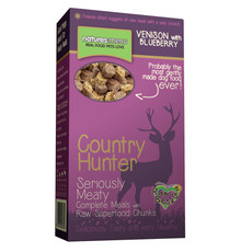 Natures Menu Country Hunter Meaty Freeze Dried Venison Crunch 8 X 700g