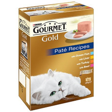 Gourmet Gold Pate Recipes 12x85g