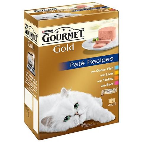 Gourmet Gold Pate Recipes 12x85g