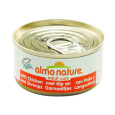 Almo Nature Classic Cat Chicken And Shrimps Tin 24 X 70g