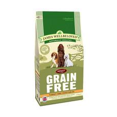 James Wellbeloved Grain Free Turkey And Vegetable Adult Dog Food 1.5kg To 2 X 10kg