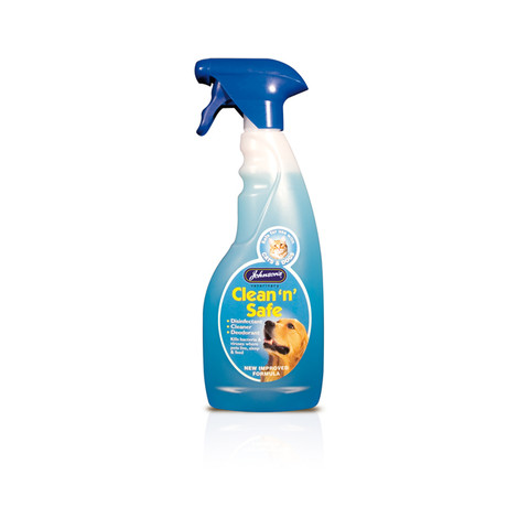 Johnsons Clean 'n' Safe For Cats & Dogs Disinfectant Spray 500ml