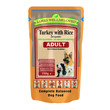 James Wellbeloved Adult Pouch With Turkey And Rice 10 X 150g
