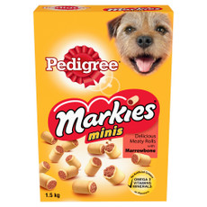 Pedigree Mini Markies Dog Biscuits 1.5kg To 5 X 1.5kg