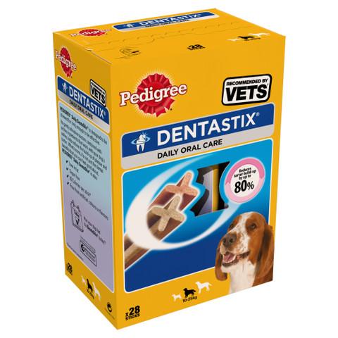 Pedigree Dentastix Daily Oral Care Dental Chews Medium Dog 10-25kg 28 Stick