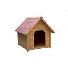 Wooden Apex Roof Flatpack Dog Kennel Lb-312 Large