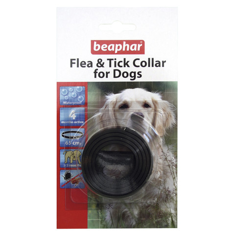 Beaphar Dog Flea And Tick Collar  To 12 X