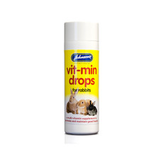 Johnsons Multi Vitamin Drops Supplement For Rabbits 100ml To 6 X 100ml