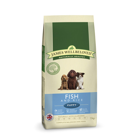 James Wellbeloved Puppy With Fish And Rice 2kg To 15kg