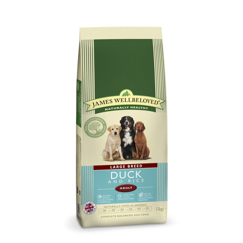 James Wellbeloved Adult Large Breed With Duck And Rice 15kg