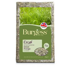 Burgess Excel Dried Forage Feeding Hay 1kg