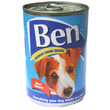 Ben Adult Premium Chunks Dog Food With Beef 12 X 400g
