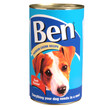 Ben Adult Premium Chunks Dog Food With Beef 6 X 1200g