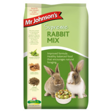 Mr Johnsons Supreme Rabbit Mix Food 15 X 1kg