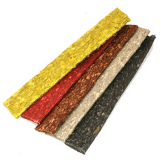 Munchy Flat Strip Assorted Dog Treat 100 X 6.5 Inch