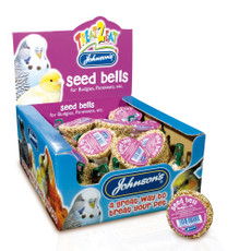 Johnsons Seed Bell For Budgies And Parakeets 34g To 27 X 34g