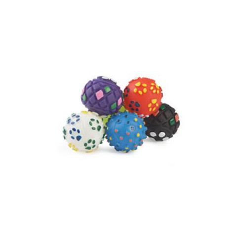 Ancol Small Bite Vinyl Ball Dog Toy 6 Pack 6 Pack To 6 X 6 Pack
