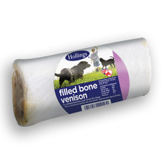 Hollings Venison Filled Bone Dog Treat