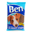 Ben Meaty Strips Dog Treats With Chicken 200g To 13 X 200g