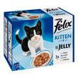 Felix Standard Kitten Pouch 12x100g