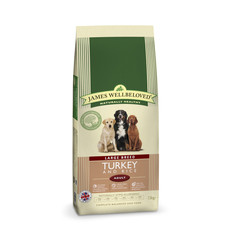 James Wellbeloved Adult Large Breed With Turkey And Rice 4kg To 2 X 15kg