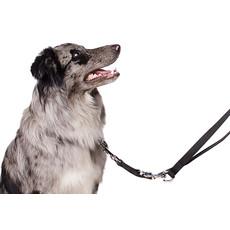 Ancol Nylon Black Training Dog Lead 1.8mx25mm