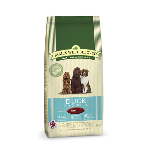 James Wellbeloved Adult With Duck And Rice 2kg To 15kg