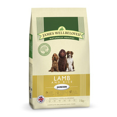 James Wellbeloved Junior With Lamb And Rice 2kg To 2 X 15kg