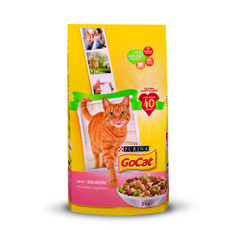 Go Cat Complete Adult Cat Food With Salmon And Veg 2kg