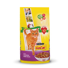 Go Cat Complete Adult Cat Food With Chicken And Duck 2kg