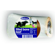 Hollings Beef Filled Bone Dog Treat
