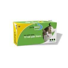 Van Ness Cat Litter Cat Pan Liners Large To 6 X Large