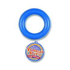 Happy Pet Rubber Ring Dog Toy 3.5in To 6 X 3.5in