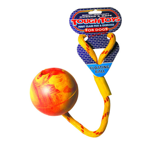 Ropeball Floater Dog Toy 3.25in To 4 X 3.25in