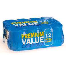 Premium Value Adult Can Cat Food 12x400g