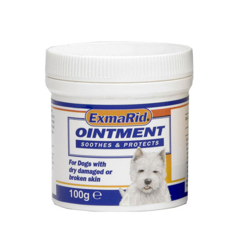 Exmarid Ointment For Dogs With Dry Or Broken Skin 100g To 3 X 100g