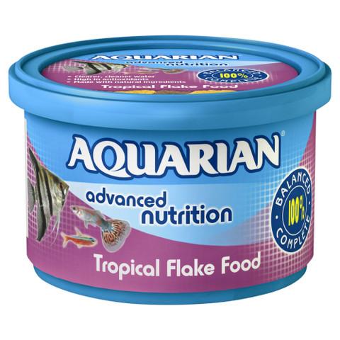Aquarian Tropical Flake Fish Food 25g To 50g
