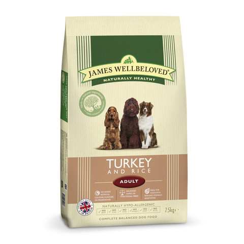 James Wellbeloved Adult With Turkey And Rice 2kg To 15kg