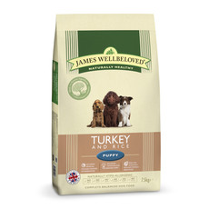 James Wellbeloved Puppy With Turkey And Rice 2kg To 15kg