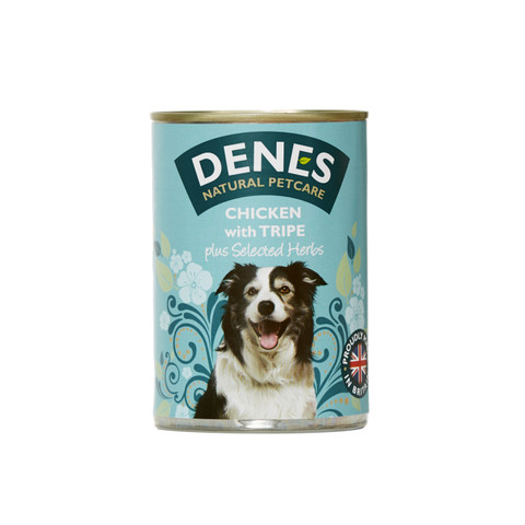 Denes Adult Dog Food Can With Chicken And Tripe 12 X 400g