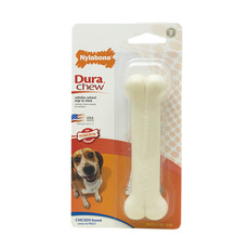 Nylabone Durachew Bone Chicken Flavoured Dog Chew Medium